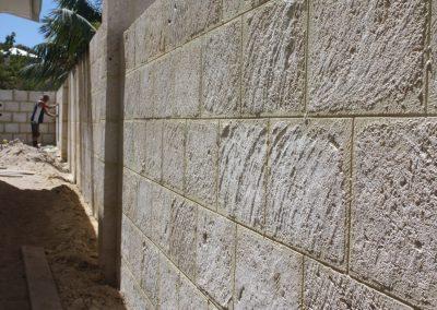 Natural limestone wall Sorrento